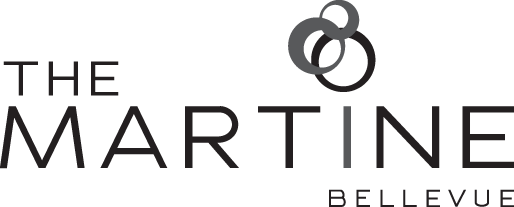 The Martine Apartments Logo, Bellevue