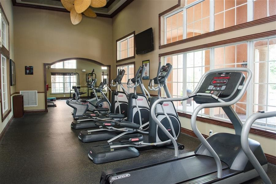 Fitness Center with updated equipment at New River Cove Apartments, 3711 State Road 84, Davie, FL