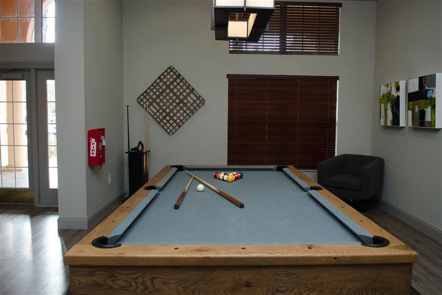 Billiards Table and Lounge at New River Cove Apartments, 3711 State Road 84, Davie, FL 33312