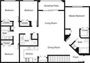 4C Floorplan at Palm Trace Landings