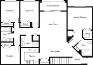 4D Floorplan at Palm Trace Landings