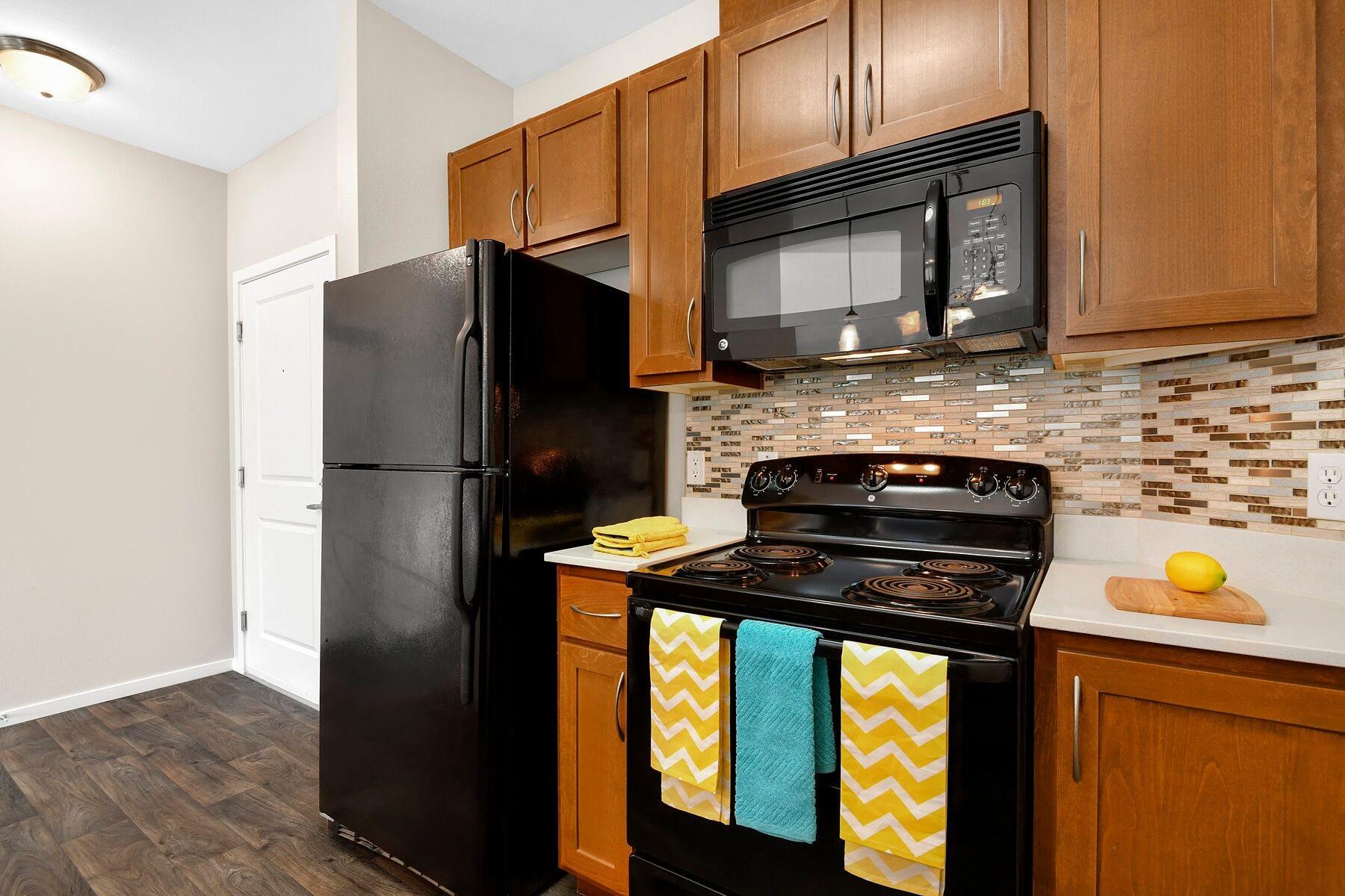 Contemporary Kitchen at Reunion at Redmond Ridge, Redmond, 98053