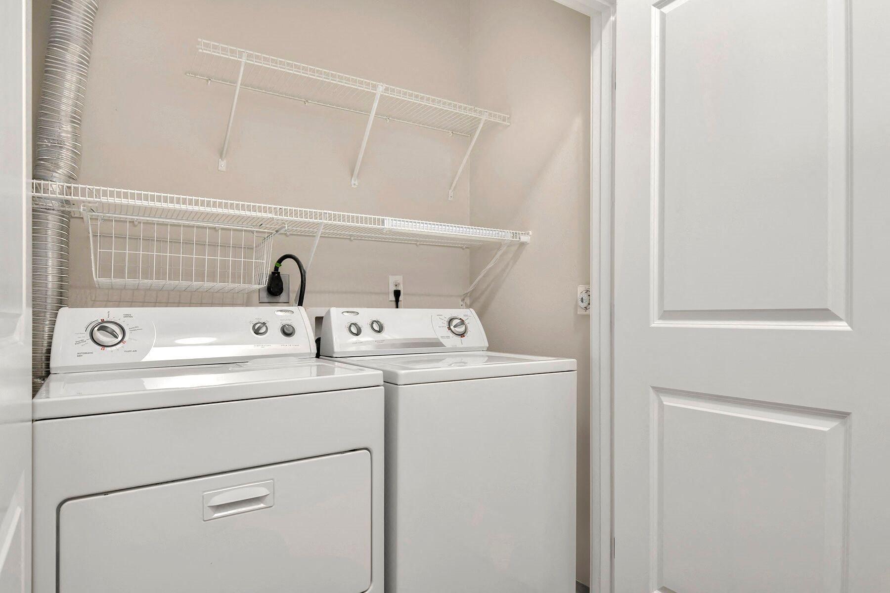 Washer/Dryer at Reunion at Redmond Ridge, Washington, 98053