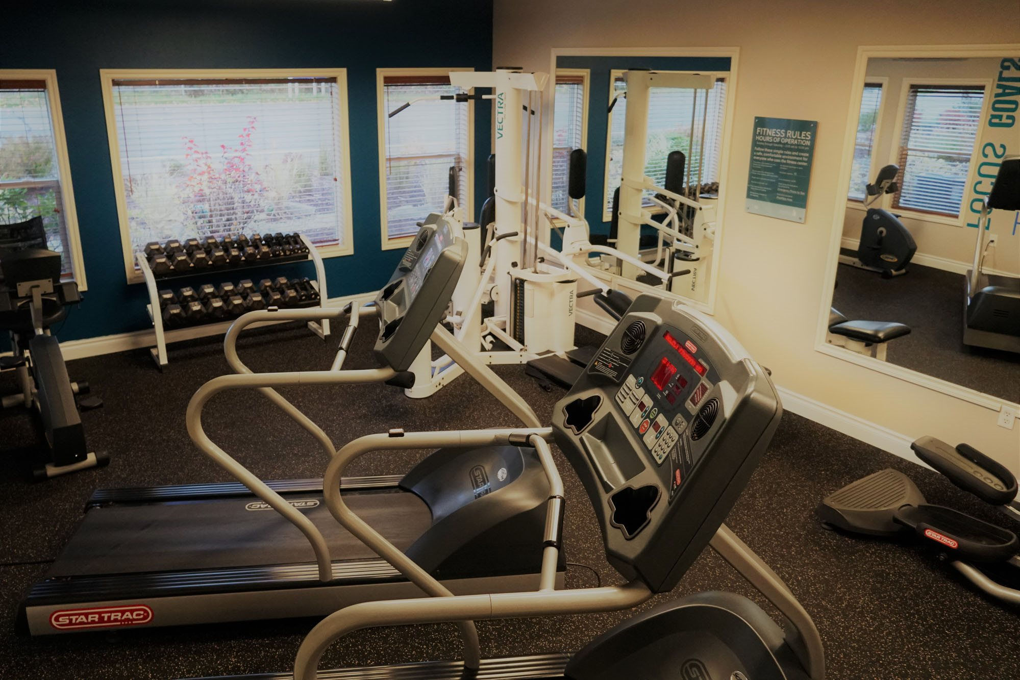 Fully Equipped Fitness Center at Sage