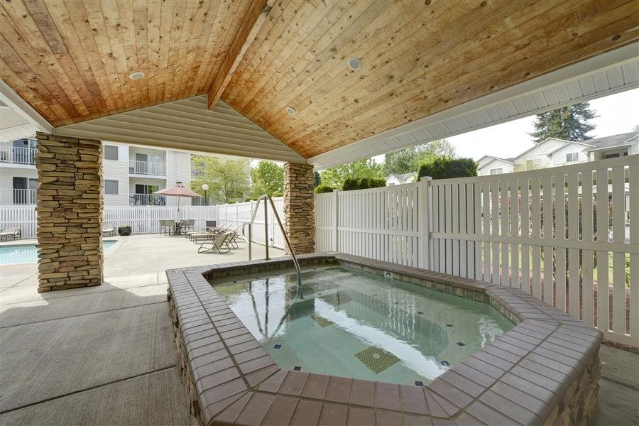 Year-Round Hot Tub at Sage Apartments, Everett, WA,98204