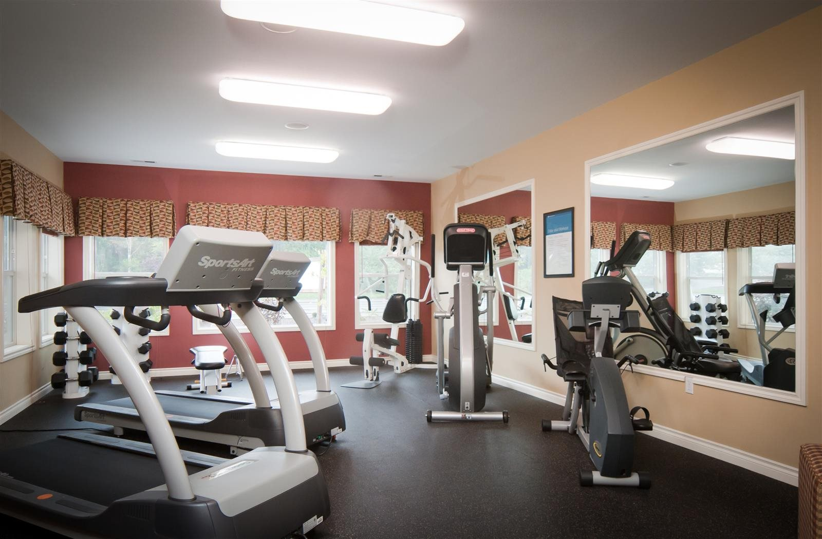Fully Equipped Fitness center at Sage Apartments, Everett, WA, 98204