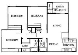 3A Floorplan at The Ashton