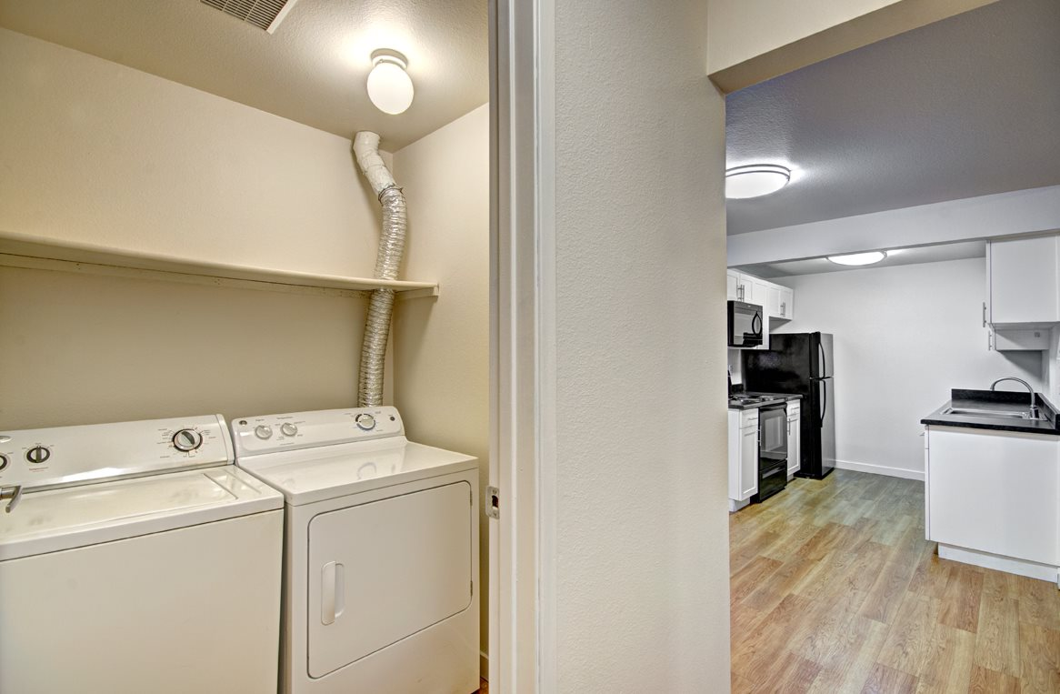 Washer and Dryer in-unit