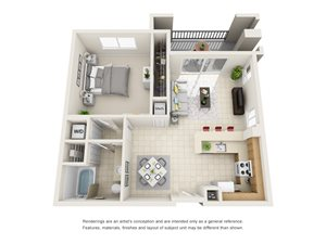 Floorplan at Gables Grand Plaza Apartments, 353 Aragon Avenue, Coral Gables, FL, 33134