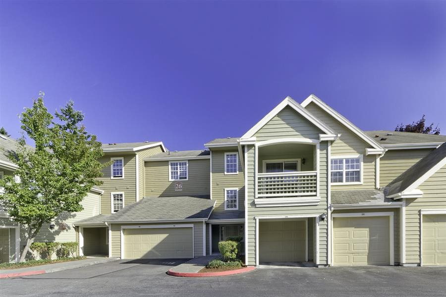 Garage Parking Included at Huntington Park Apartments, Everett, WA,98208