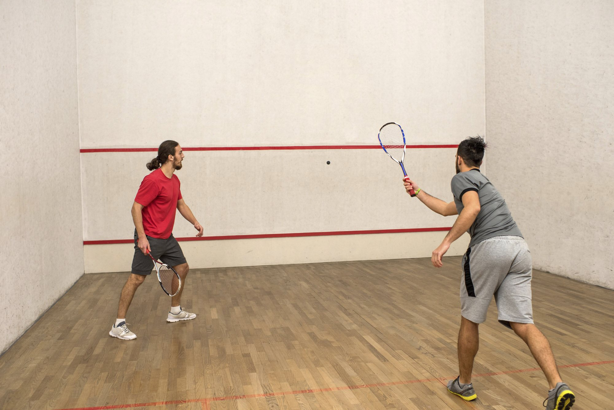 Racquetball Court at Huntington Park Apartments, Everett, WA,98208
