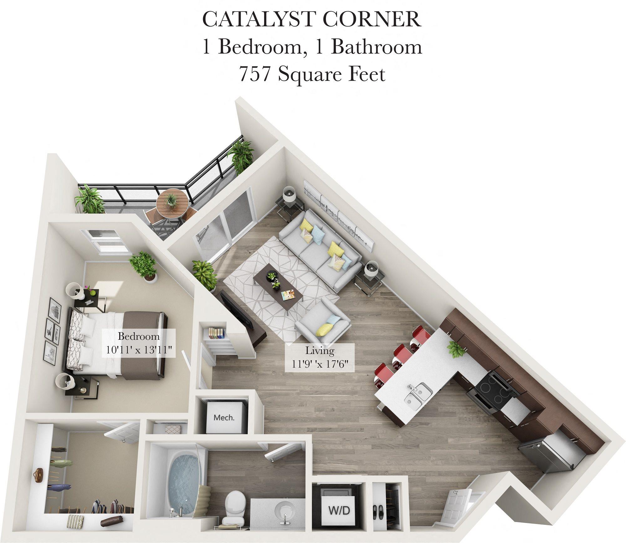 Catalyst Corner Floor Plan 3