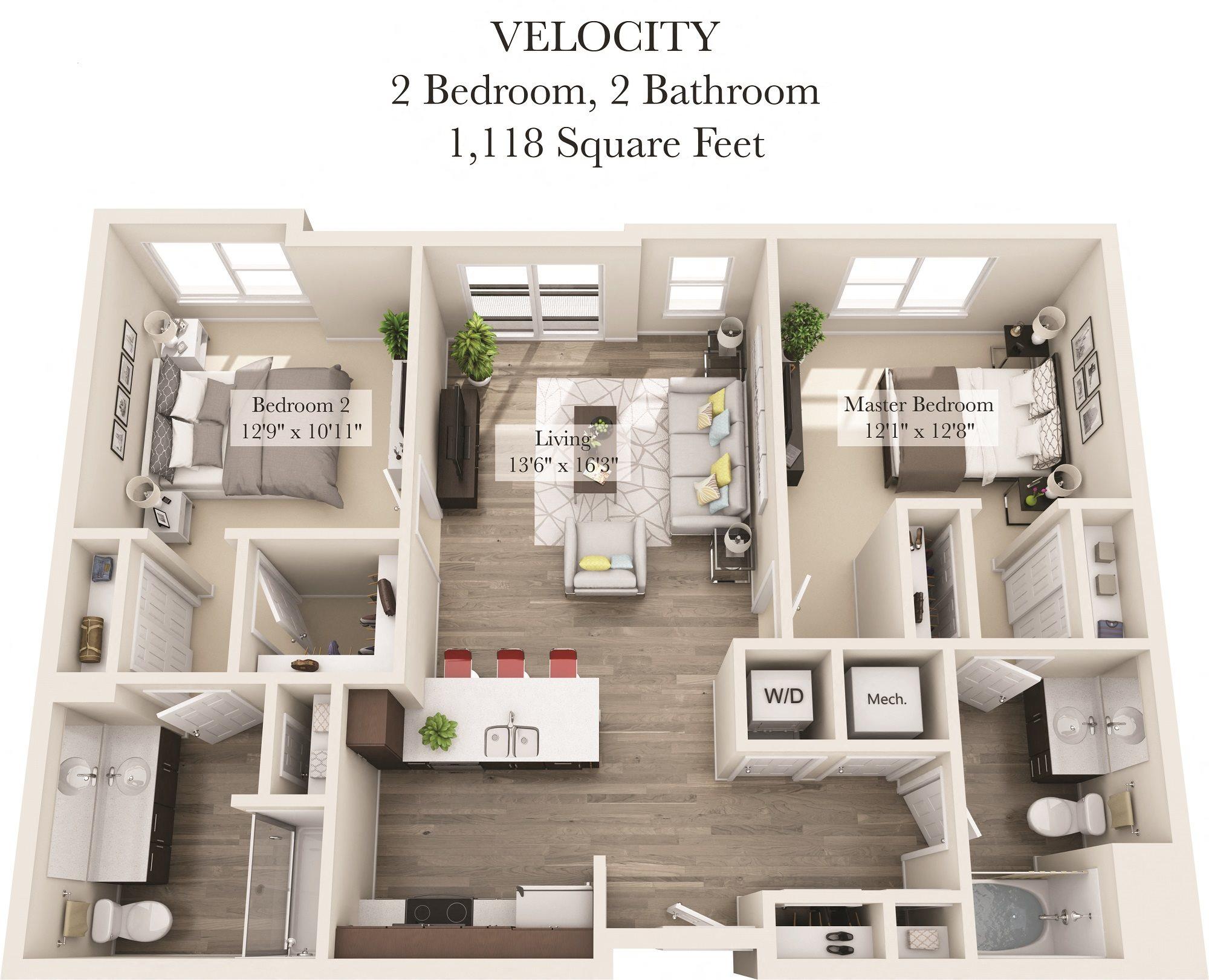 Velocity Floor Plan 8