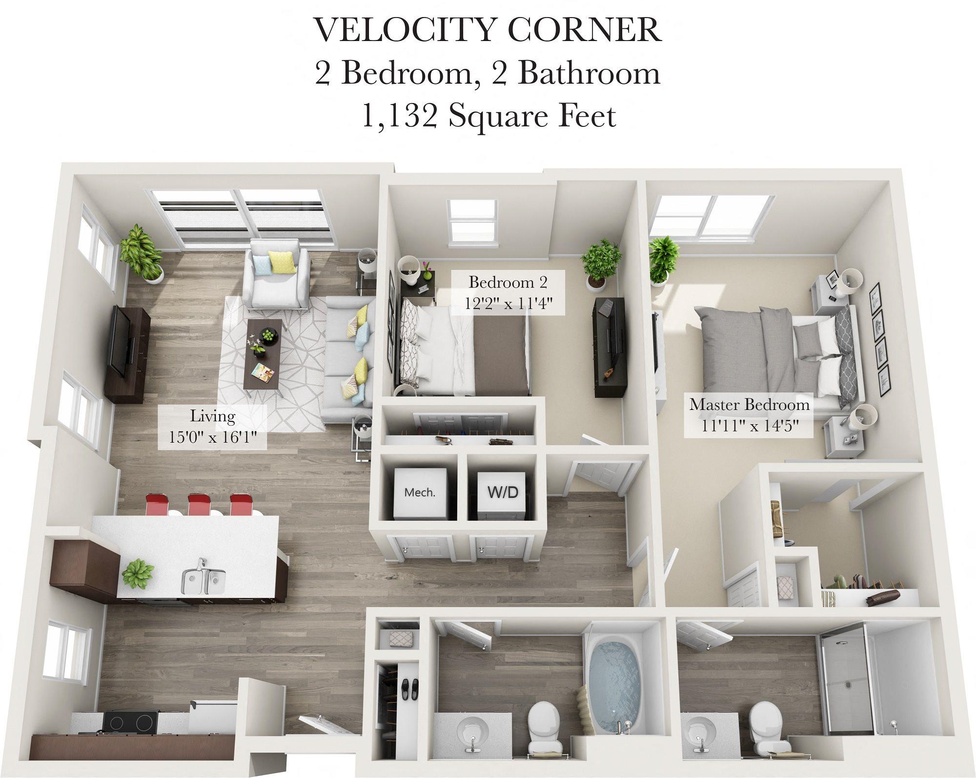 Velocity Corner Floor Plan 10