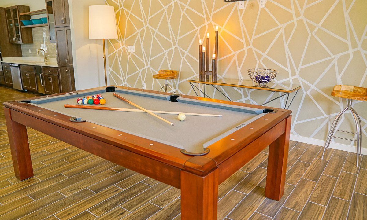 Pooltable at Venture Apartments iN Tech Center in Newport News VA