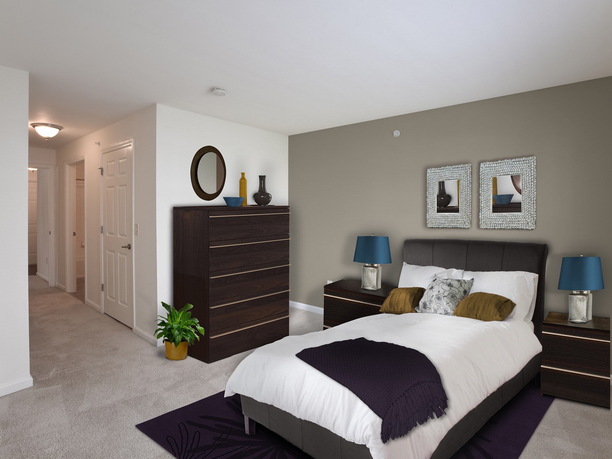Large Bedroom at Enclave at Charles Pond Apartments in Coram, NY