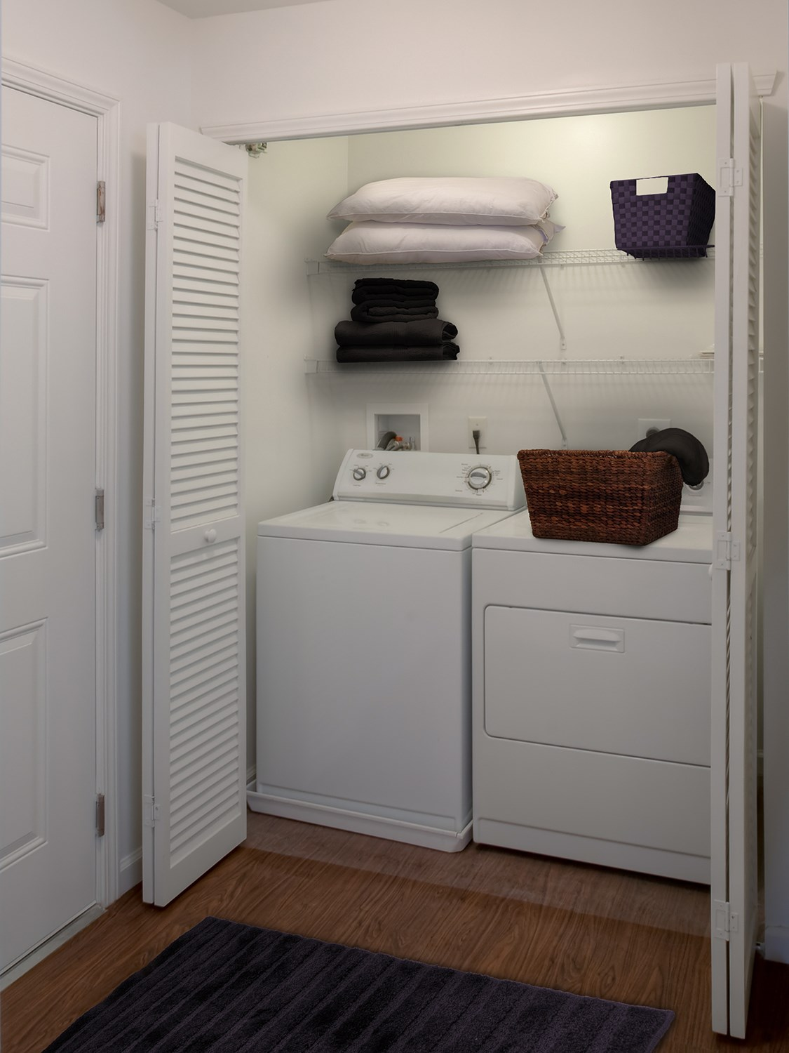 In-Unit Laundry at Enclave at Charles Pond Apartments in Coram, NY