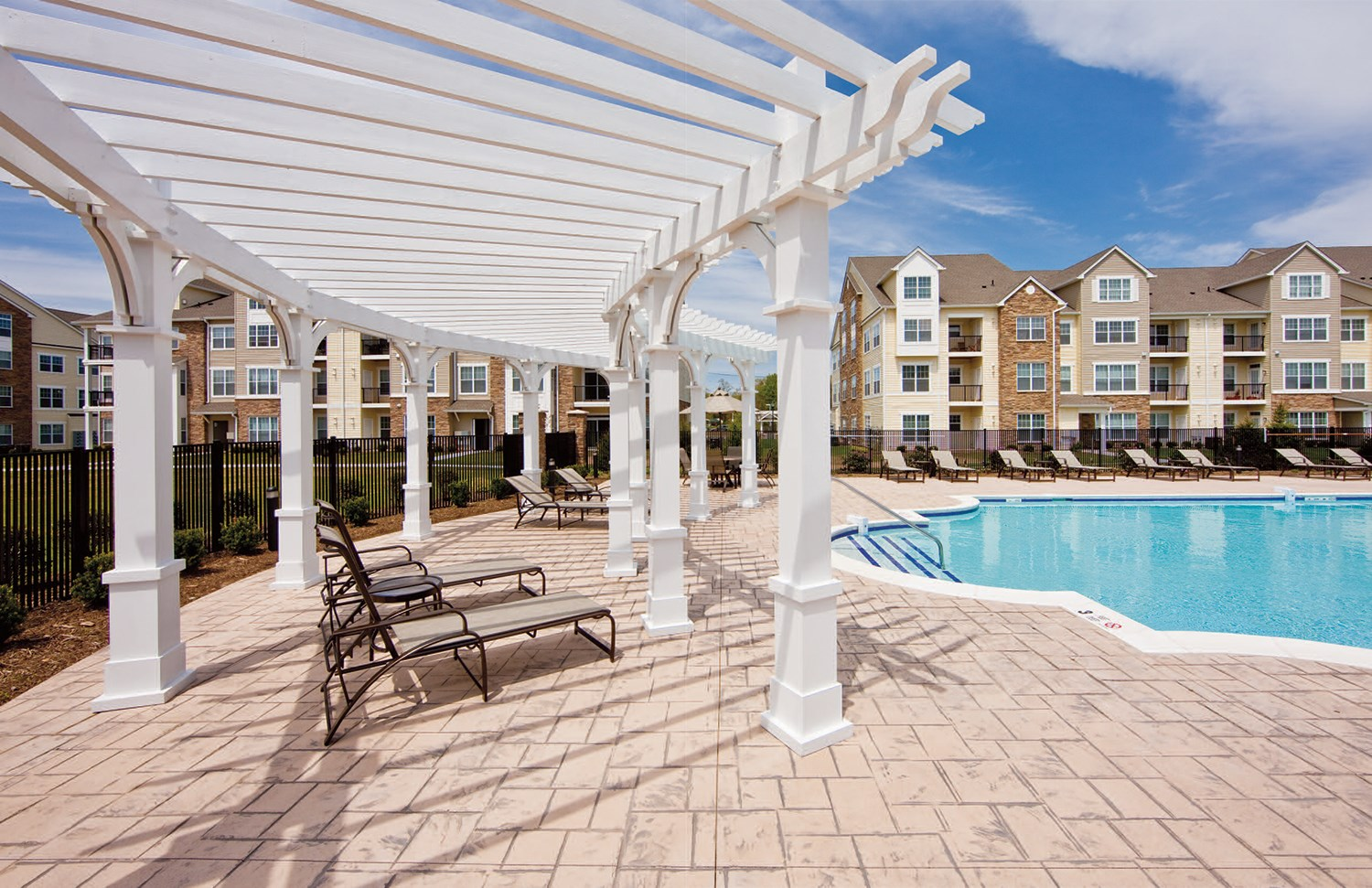 Swimming Pool at Enclave at Charles Pond Apartments in Coram, NY