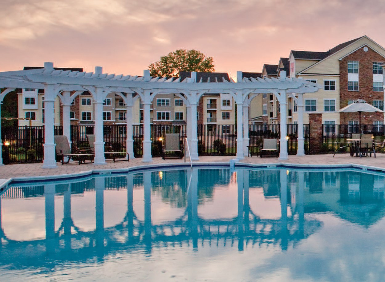 Swimming Pool at Duck at Enclave at Charles Pond Apartments in Coram, NY