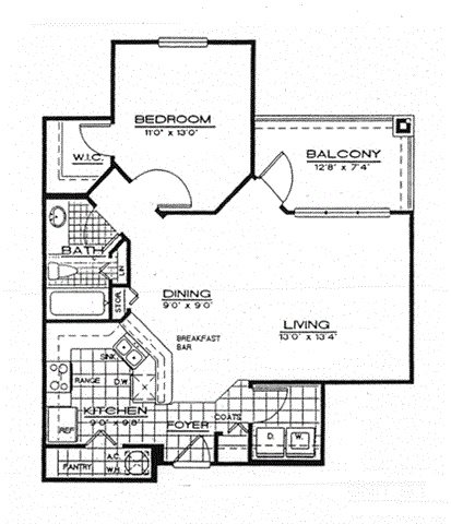 Maple Floor Plan 1