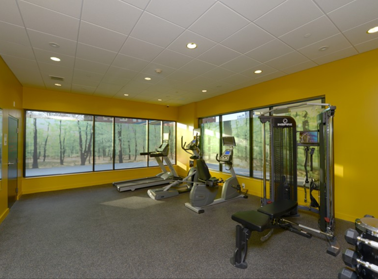 High-Tech Fitness Center at 603 Concord, Cambridge