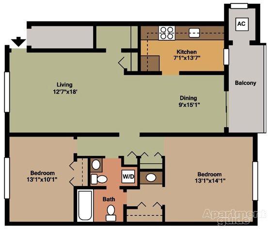 Style D Floor Plan 5