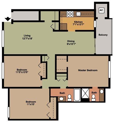 Style E Floor Plan 6