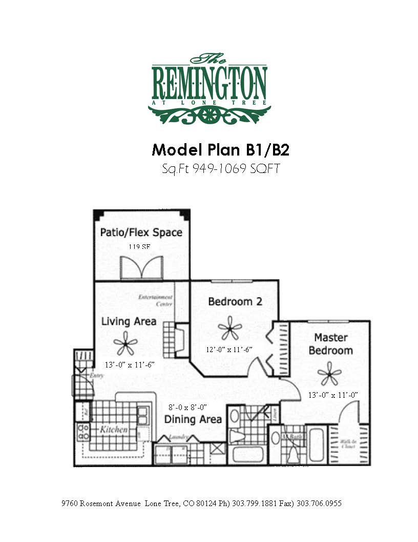 Plan C Floor Plan 3