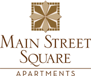 Main Street Square Property Signage and Logo Holly Springs NC