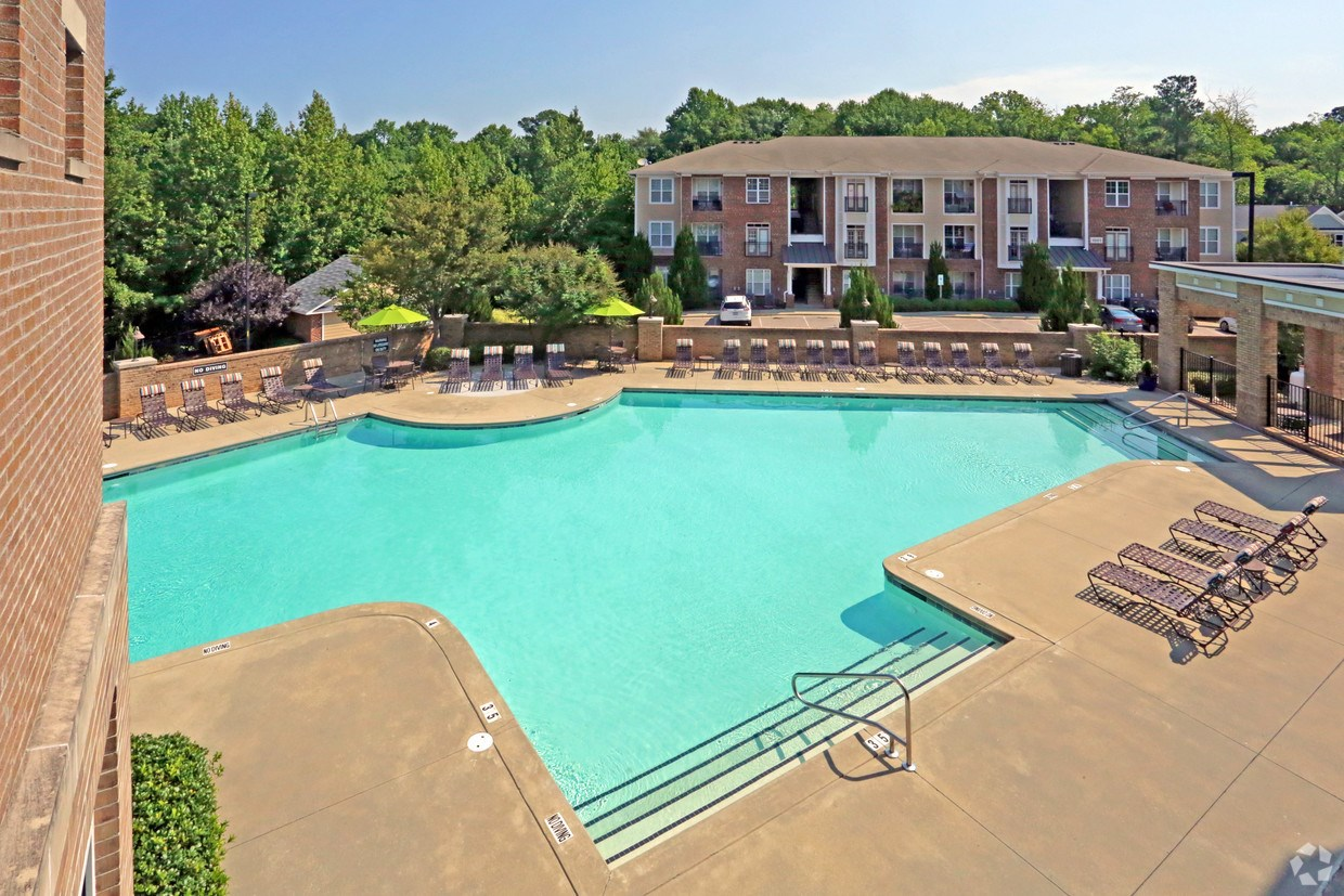 Resort Style Swimming Pool at Main Street Square Holly Springs NC