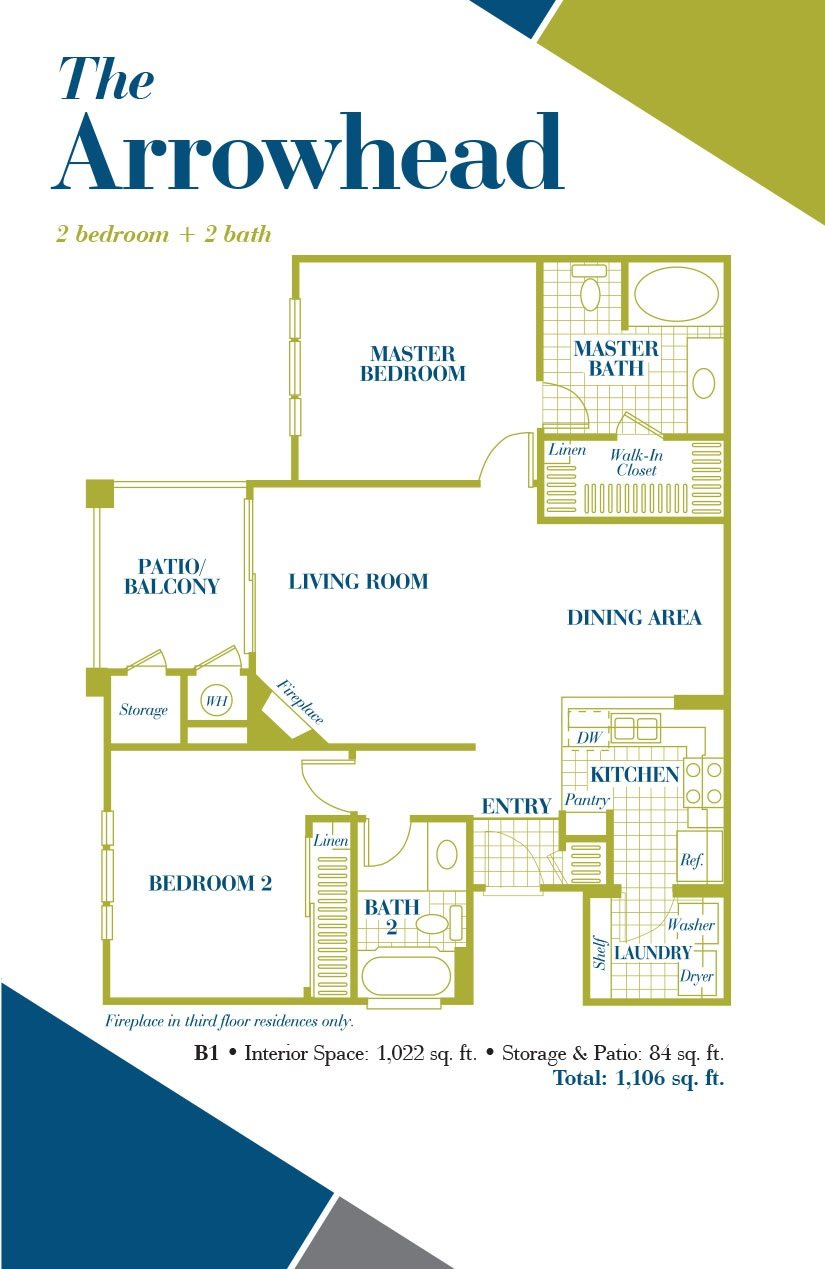 The Arrowhead Floor Plan 4