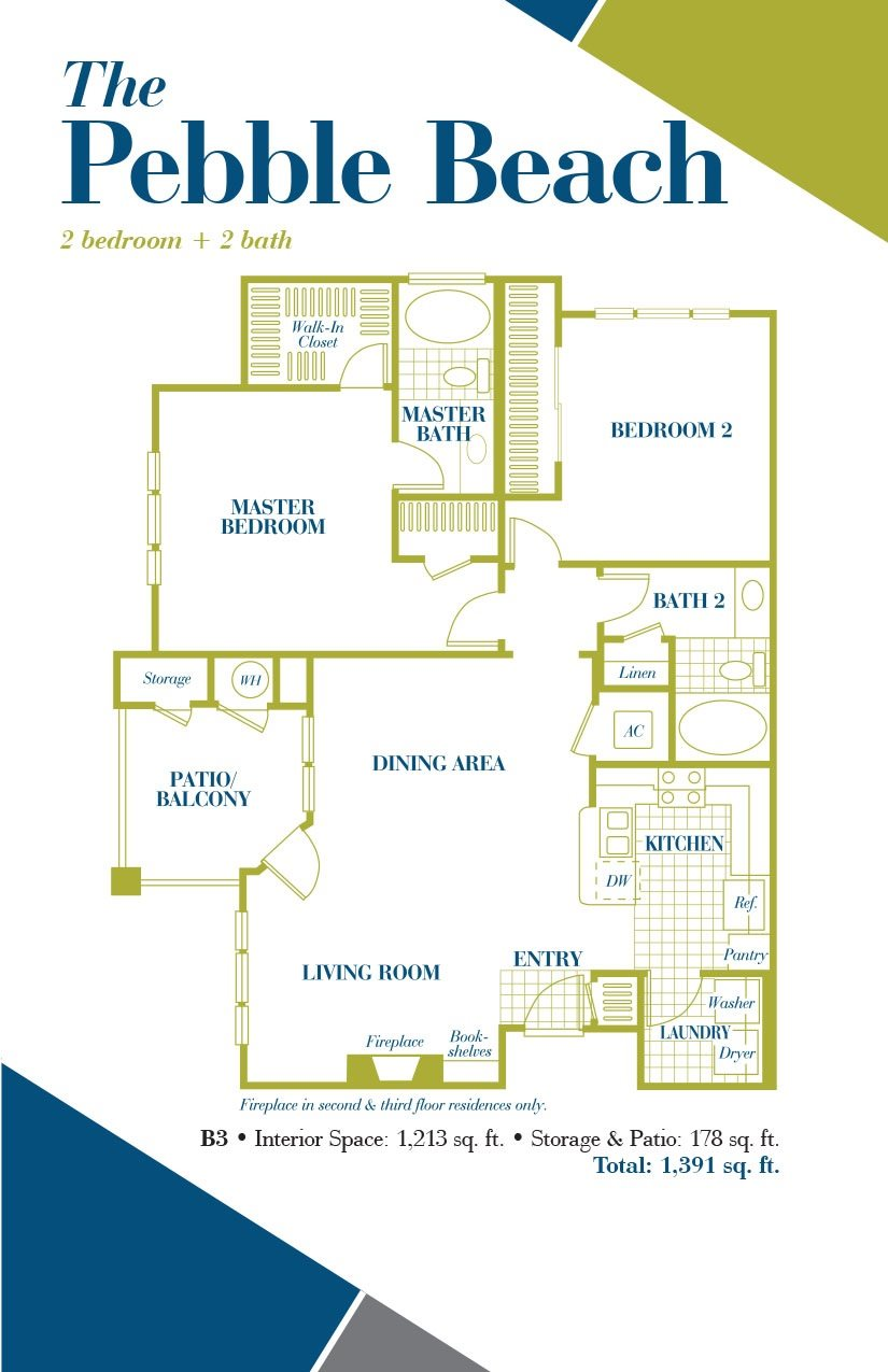 The Pebble Beach Floor Plan 6