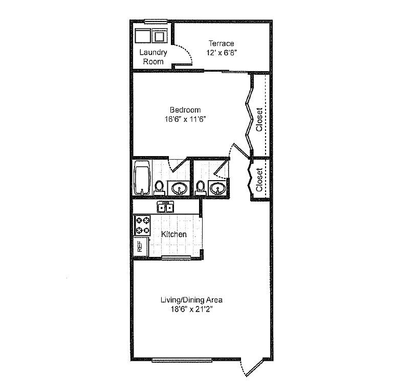 Emerald Palms Apartments: Floor Plans Of Sedona Village In Palm Springs, FL