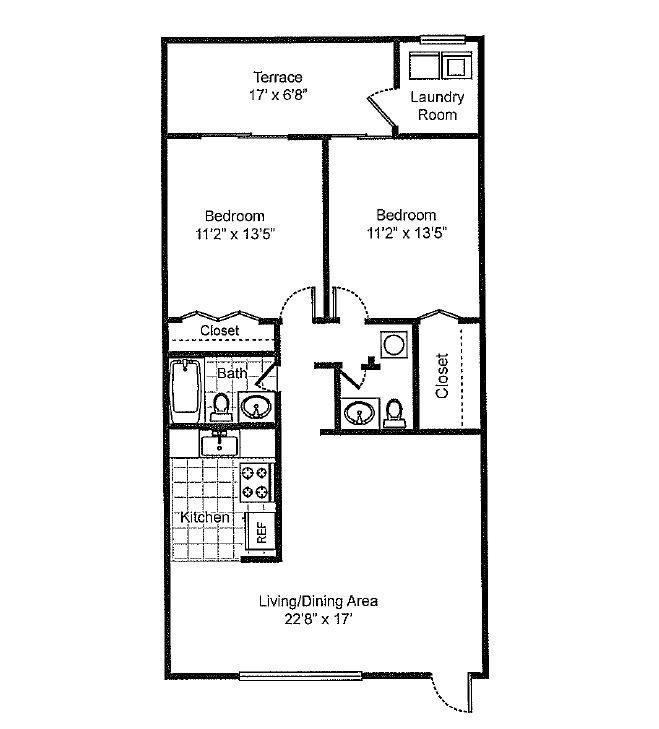 Floor Plans Of Sedona Village In Palm Springs, FL