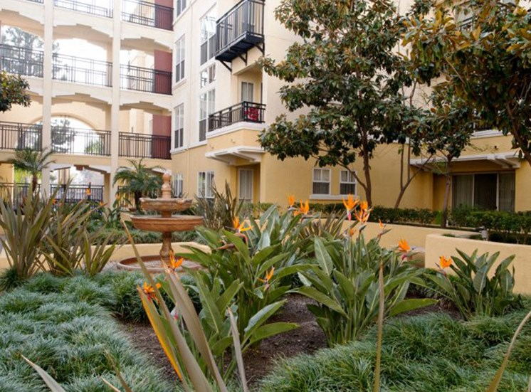 Pasadena CA Pet Friendly Apartments for Rent - Arpeggio Apartments Front Entrance