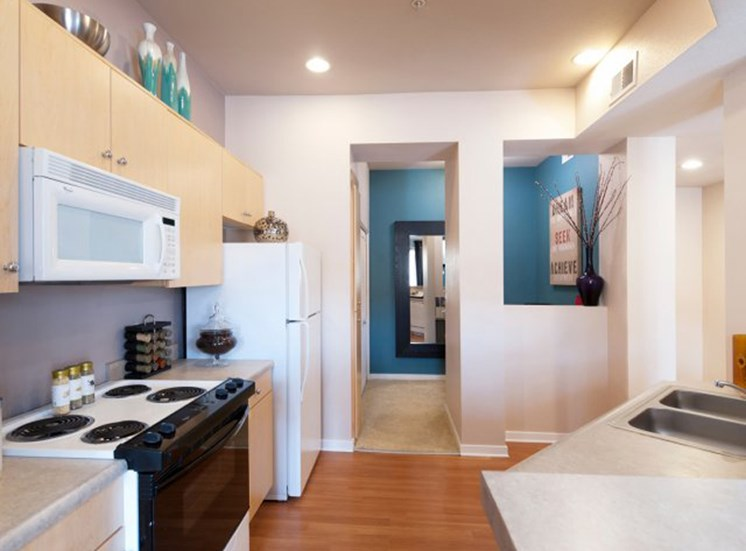 Apartments in Pasadena CA for Rent - Arpeggio Apartments Kitchen