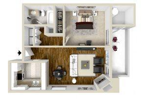 The Marin floor plan.