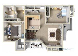 The Birch floor plan.
