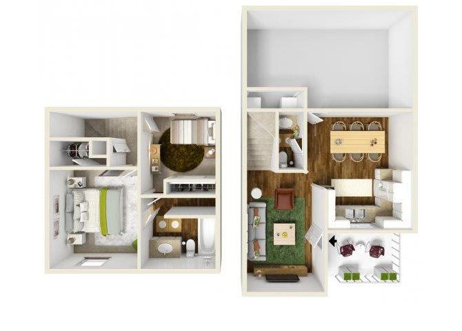 The Ash floor plan.