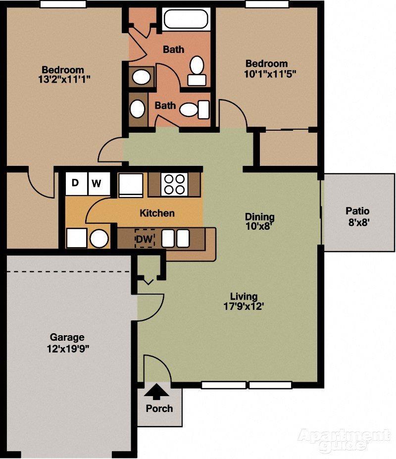 Broadway Village Apartments: Floor Plans Of Broadway Village Apartments In Greenfield, IN