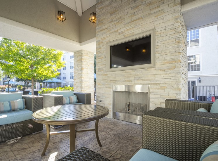 Television at The Stratford Apartments in Sandy Springs, GA