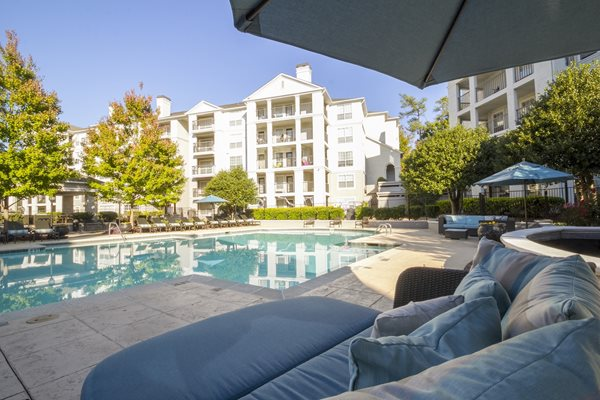 Pool at The Stratford Apartments in Sandy Springs, GA