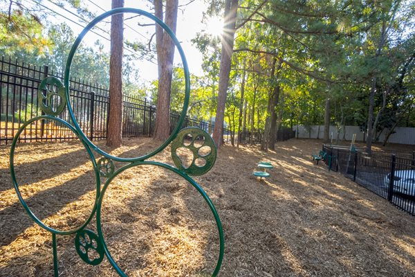 Dog Park at The Stratford Apartments in Sandy Springs, GA