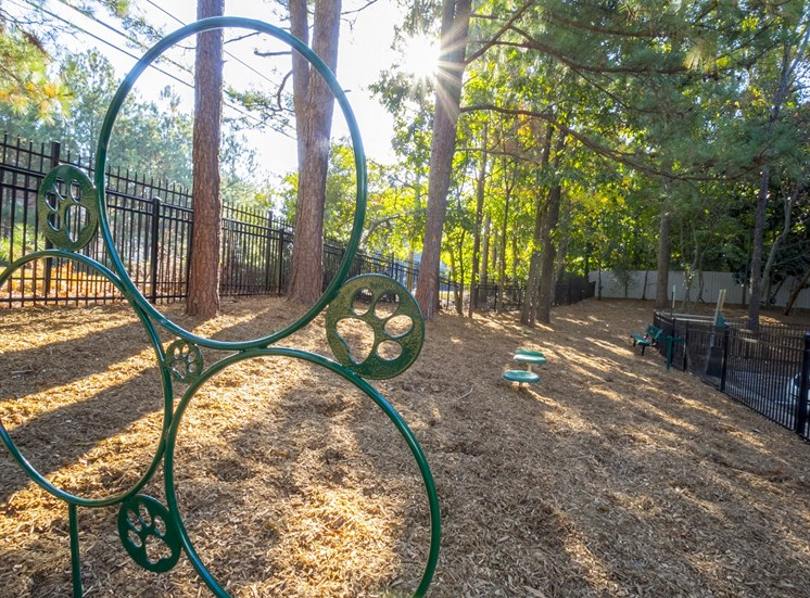 Dog Area at The Stratford Apartments in Sandy Springs, GA