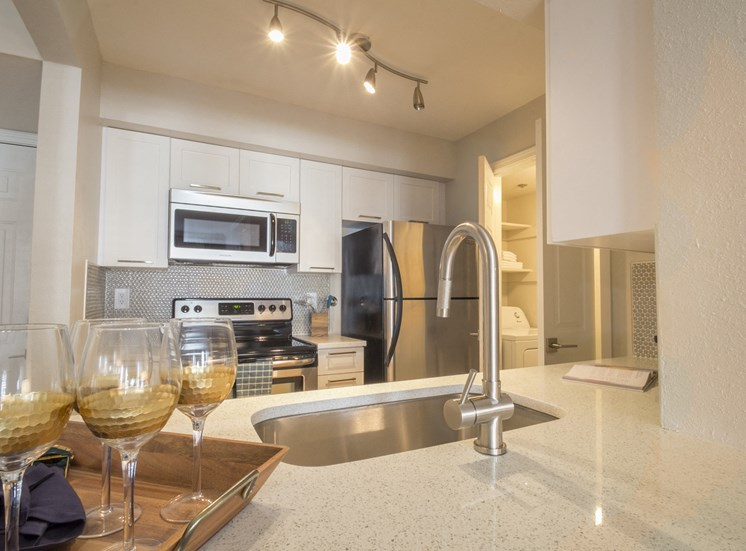 Marble Counters at The Stratford Apartments in Sandy Springs, GA