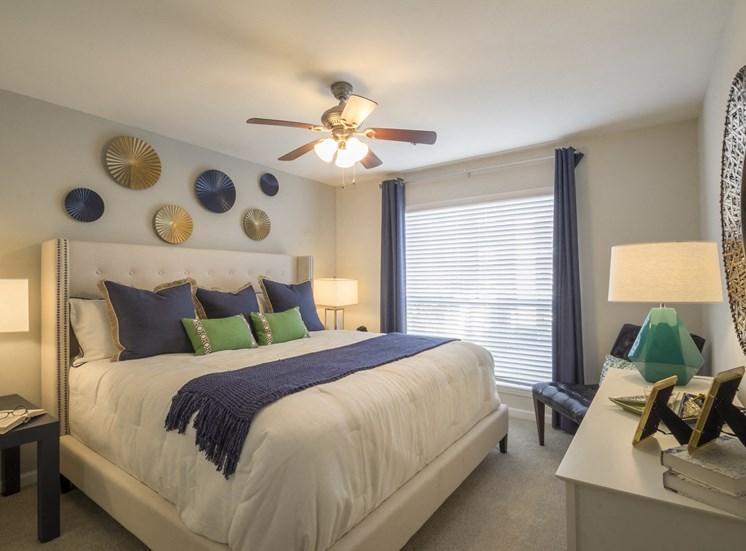 Bedroom at The Stratford Apartments in Sandy Springs, GA