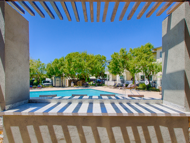 Outdoor Cabanas With BBQ at Harvest Park Apartments, CA, 95404