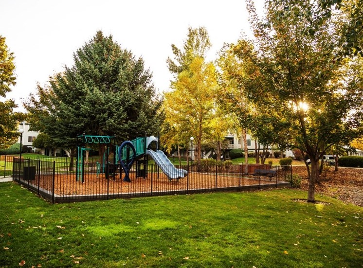 Playground at Edgewater Apartments, Boise