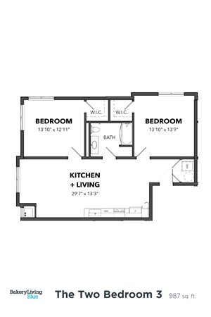 The Two Bedroom 3