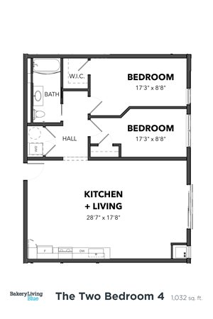 The Two Bedroom 4